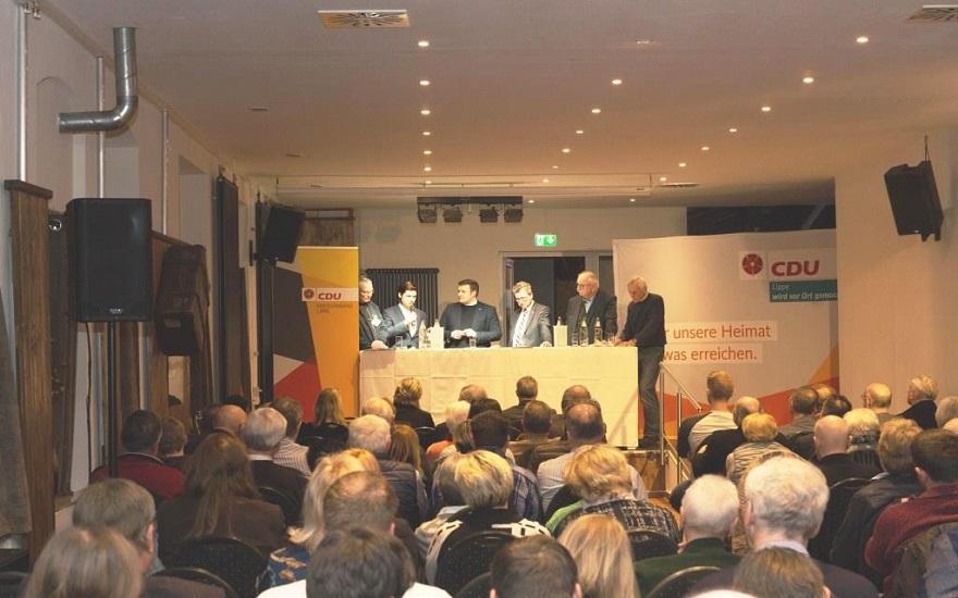 v.l.: Manfred Wiehenkamp, Jacob Lehmann, Lars Wilhelm Brakhage, Jens Gnisa, Martin Walbert und Willi Wächter
